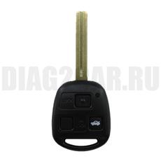 Ключ Lexus 3 кн TOY40 (44 мм) с Ду 433 MHz 4D67