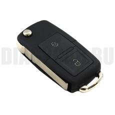 Ключ выкидной Volkswagen 2+1 квадр. кнопки