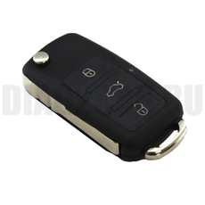 Ключ Фольксваген с ДУ 433Mhz Туарег 7946 3+1 кн