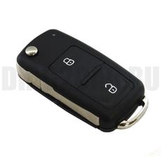 Ключ выкидной Volkswagen 2 кнопки NEW Polo, Golf, Jetta, Amarok