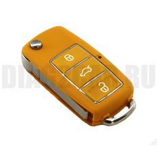 Корпус ключа Volkswagen Passat, Golf, Bora, Jetta 3 кнопки