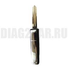 Ключ выкидной Kia 3+1 кнопки заготовка