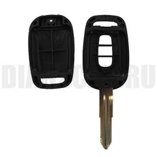 Ключ обычный Chevrolet 3 кнопки