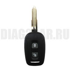Ключ Chevrolet Captiva с ДУ 433 Мгц 3 кнопки