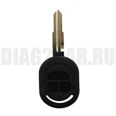 Корпус простого ключа Chevrolet Lacetti 3 кнопки