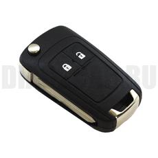 Корпус выкидного ключа Chevrolet 2 кнопки DWO4R