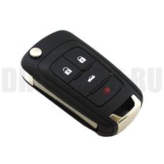 Корпус ключа Chevrolet 3+1 кн Cruze