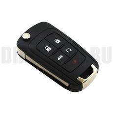 Корпус ключа Chevrolet 4+1 кнопки Cruze