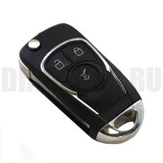 """Ключ выкидной """"Тюнинг"""" Chevrolet Cruze 3 кнопки HU100"""