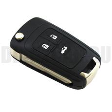 Корпус выкидного ключа Chevrolet 3 кнопки левое лезвие
