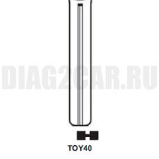 Жало выкидного ключа TOY40 (44 мм)