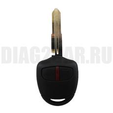 Ключ Mitsubishi 2 кнопки MIT8 New левое с ДУ 315 MHz (Америка)