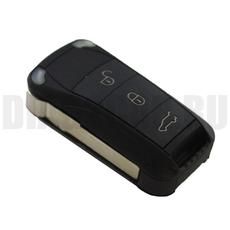 Ключ выкидной Porsche 3 кнопки 434MHz