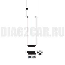 Жало выкидного ключа HU66 для ключа