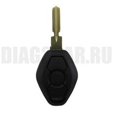 Ключ BMW 3 кнопки с ДУ 433Mhz HU58