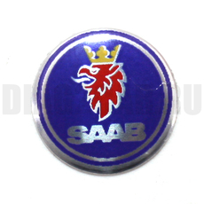 Логотип на ключ зажигания Saab