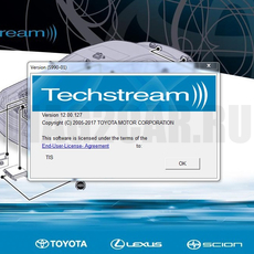 Установка программы TechStream 15.10