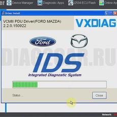 Установка софта Ford VCM IDS 2 Форд ВСМ 2 ver.86