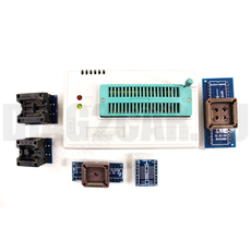 Программатор MiniPro TL866A RUS с набором адаптеров