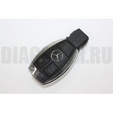 Mercedes Benz корпус смарт ключа рыбка хром 3 кнопки