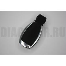 Mercedes Benz корпус смарт ключа рыбка хром 3+1