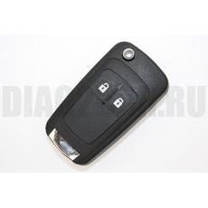 Opel ключ выкидной 433 Мгц 2 кн Опель Astra J Corsa E Insignia Zafira C 2009-2016