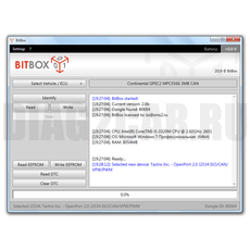 Модуль SsangYong Delphi Diesel для BitBox
